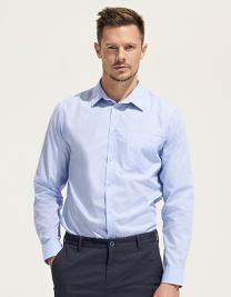 Popeline-Shirt Baltimore Longsleeve